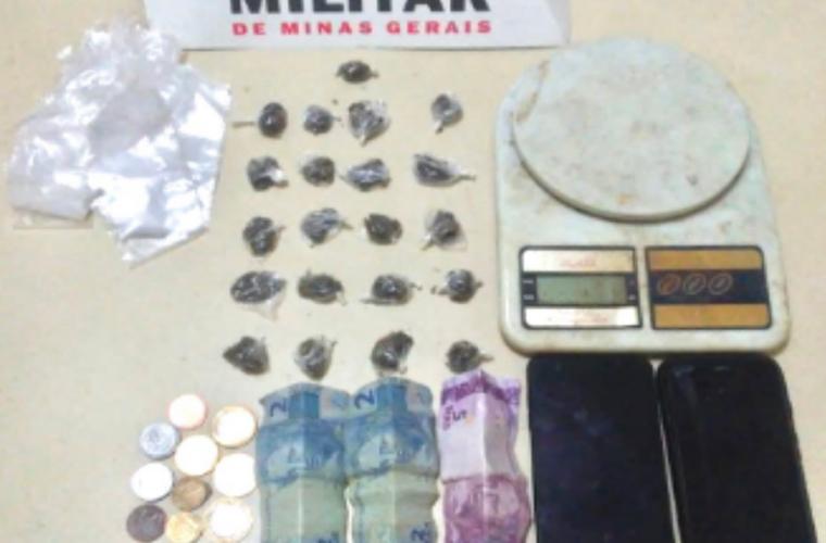 Três pessoas são presas suspeitas de tráfico de drogas em Matozinhos