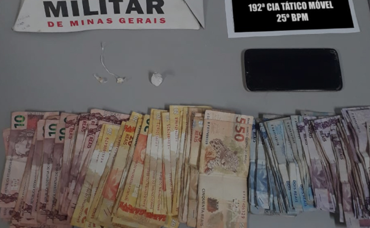 Menor é apreendido com crack e cocaína no bairro Brejinho em Sete Lagoas