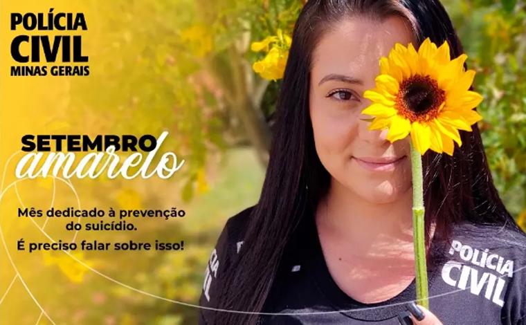 Polícia Civil de Minas Gerais lança campanha de prevenção ao suicídio