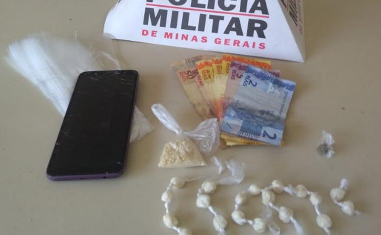 Polícia Militar prende jovem por tráfico de drogas em Matozinhos