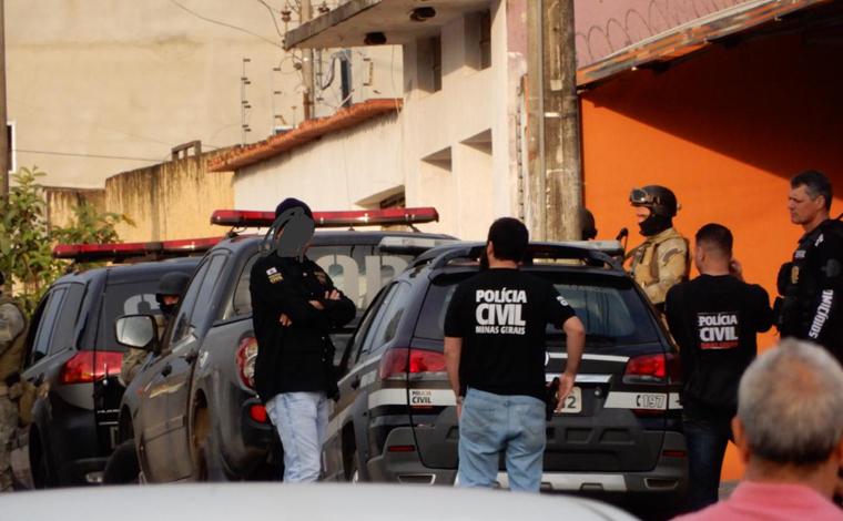 Polícia Civil realiza Mega Operação para combater tráfico de drogas e homicídios em Sete Lagoas