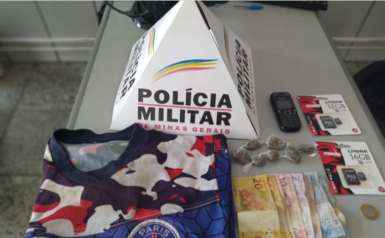 Homem é preso por tráfico de drogas e menores apreendidos por roubo em Sete Lagoas