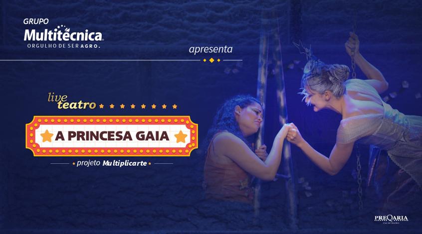 Grupo Multitécnica promove espetáculo teatral online em comemoração ao dia das crianças