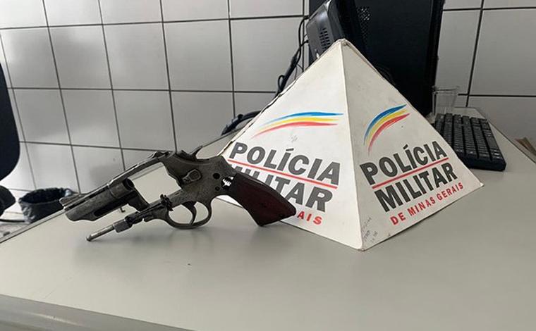 Homem é preso por guardar arma de fogo para filho que está detido na APAC de Sete Lagoas