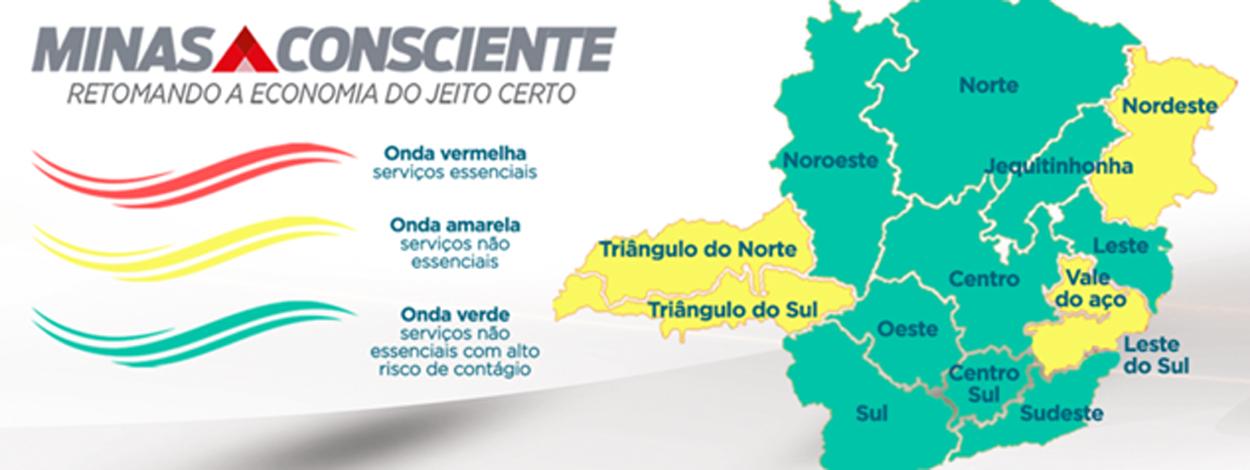 Sete Lagoas se mantém na onda verde do programa Minas Consciente
