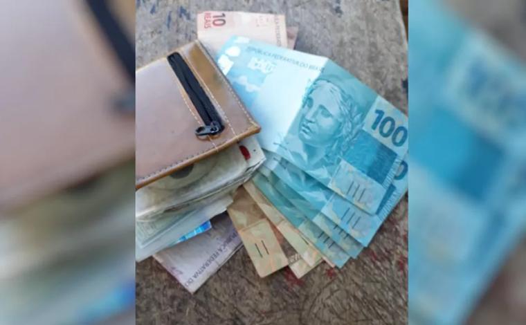 Cortador de cana encontra carteira com R$ 8 mil na rua e devolve ao dono, em Goiás