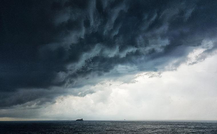 Formação de ciclone no litoral pode causar tempestades em Minas Gerais