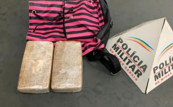 Adolescente de 16 anos é apreendida com duas barras de crack próximo ao bairro Dona Sílvia