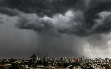 Sete Lagoas e outras 517 cidades mineiras tem alerta para chuvas intensas seguidas de ventania