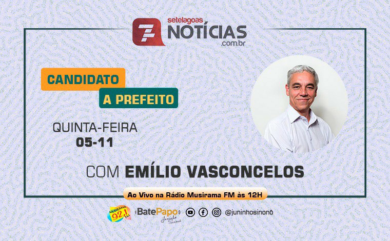 Bate Papo Especial Eleições 2020: Emílio Vasconcelos