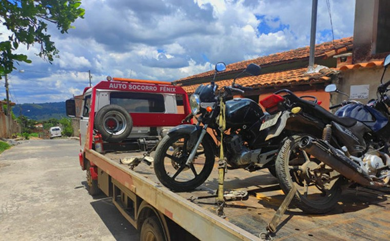 Polícia Militar localiza duas motocicletas roubadas no bairro Itapuã em Sete Lagoas