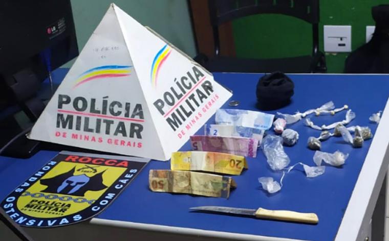 Dois jovens são presos por tráfico de drogas no bairro Orozimbo Macedo em Sete Lagoas