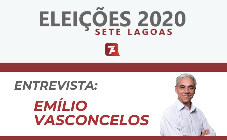Eleições 2020 – Entrevista com Emílio Vasconcelos, candidato a prefeito de Sete Lagoas