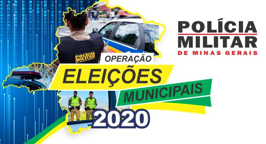 """PM lança """"Operação Eleições Municipais 2020"""" em Sete Lagoas e em outras 15 cidades da região"""