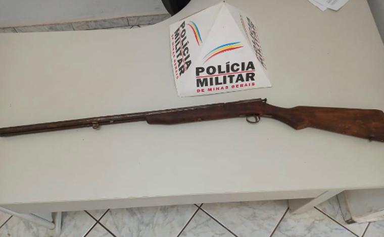 Homem é preso por porte ilegal de arma de fogo em Paraopeba