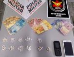 Dois homens são presos por tráfico de drogas no bairro Orozimbo Macedo em Sete Lagoas