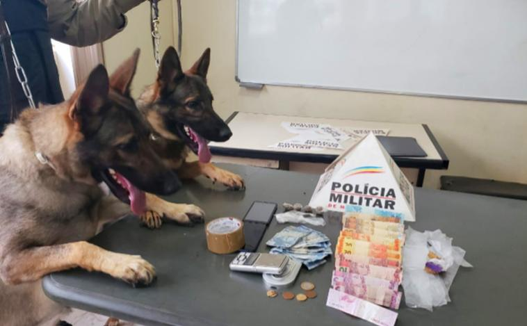 Três homens são presos por tráfico de drogas em Sete Lagoas e Paraopeba