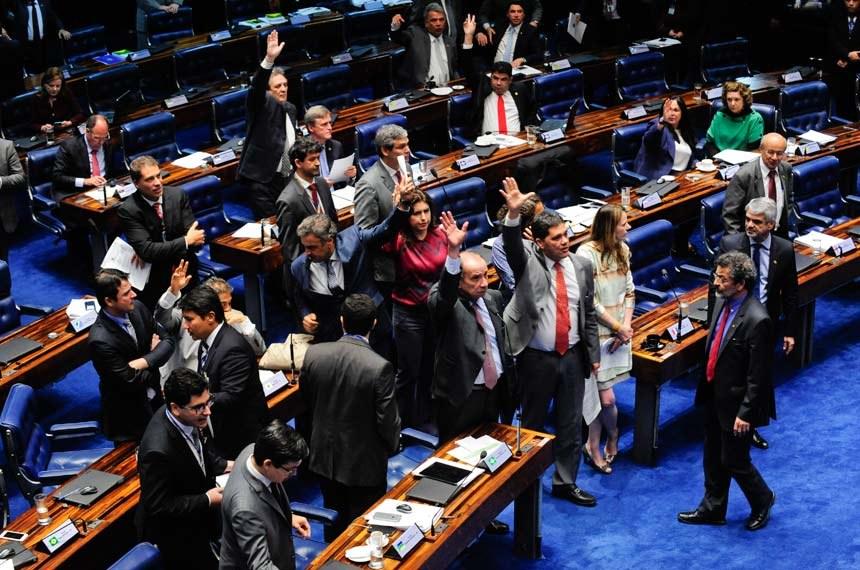 Senado aprova em Primeiro Turno projeto que diminui número de partidos políticos