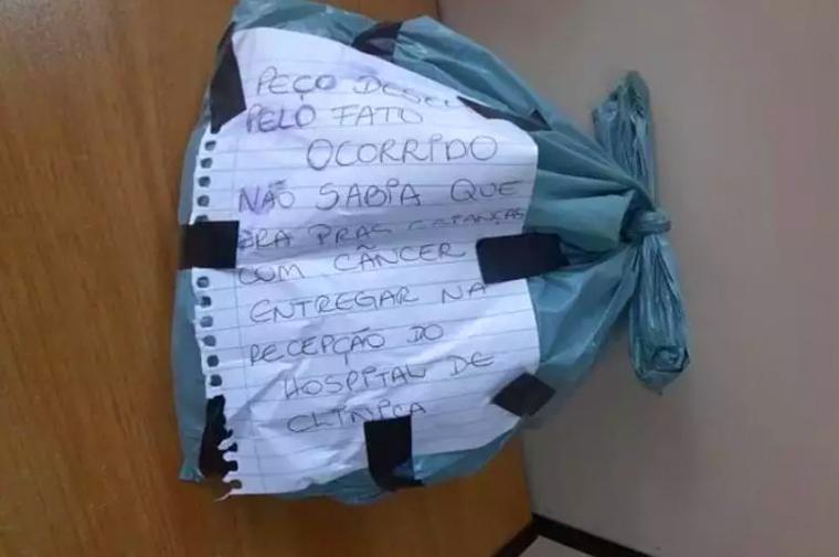 Ladrão pede desculpas e devolve doação de cabelo para crianças com câncer
