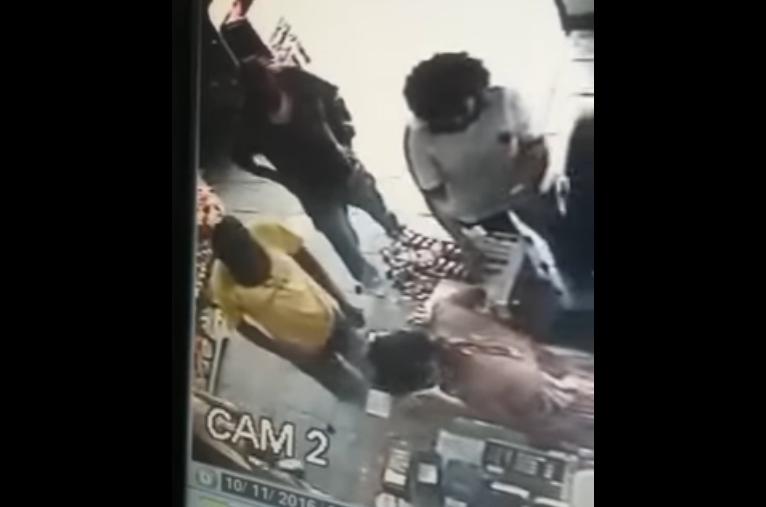 Imagens de circuito interno mostram ação de assaltantes em Sete Lagoas