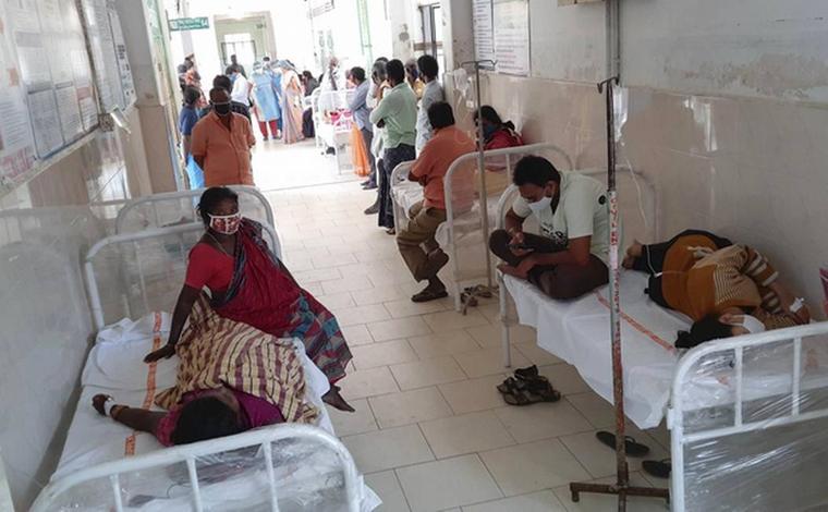 Mais de 450 pessoas são infectadas por doença misteriosa na Índia