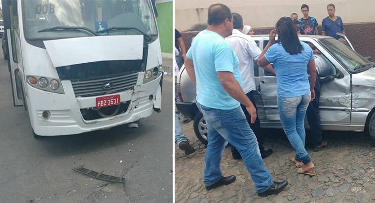 Acidente em cruzamento de Sete Lagoas deixa três crianças feridas