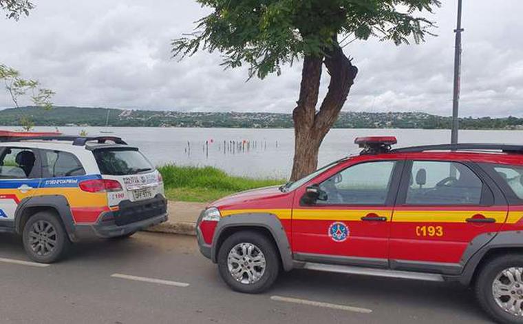 Corpo é encontrado boiando em Lagoa Central de Lagoa Santa