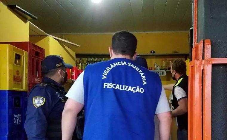 Vigilância Sanitária visita comércios em Sete Lagoas para fazer orientações sanitárias