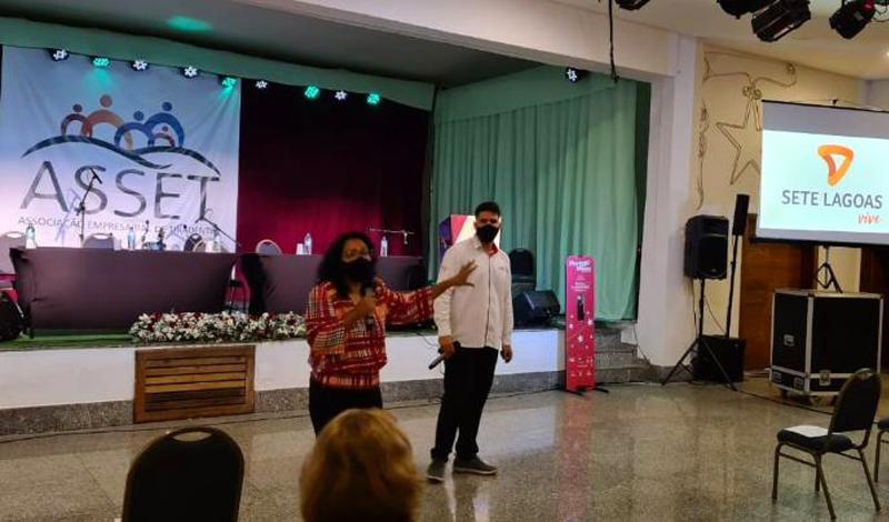 Sete Lagoas apresenta case de nova marca durante encontro empresarial em Tiradentes
