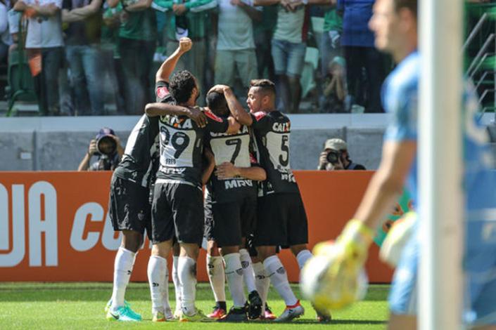 Galo defenderá invencibilidade de dez jogos contra o Palmeiras