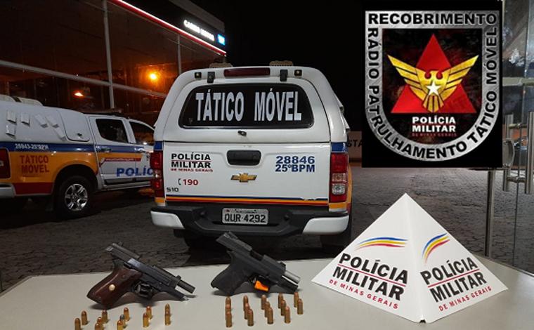 Três pessoas são presas em baile funk por porte ilegal de arma de fogo em Sete Lagoas