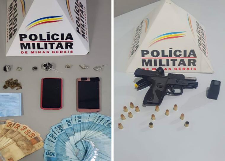 Jovem é preso por tráfico de drogas no bairro Centenário em Sete Lagoas