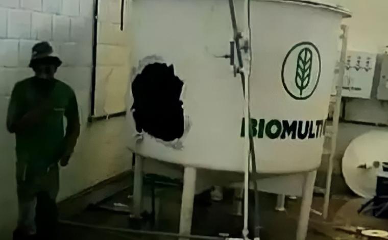 Dois trabalhadores morrem asfixiados após caírem em tanque de armazenamento de adubo em Jaíba