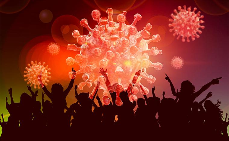 O que fazer se tiver sintomas de COVID-19 depois das festas?