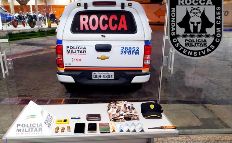 Motorista de aplicativo é roubado e suspeito é preso após perseguição policial em Sete Lagoas