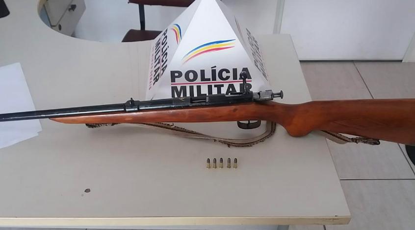 Homem é preso por porte ilegal de arma de fogo em Prudente de Morais