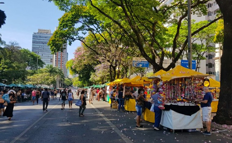PBH suspende Feira Hippie e outras nove feiras de Belo Horizonte para conter avanço da Covid-19