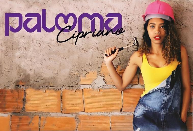 Youtuber sete-lagoana, Paloma Cipriano, anuncia novo quadro de reforma; saiba como participar