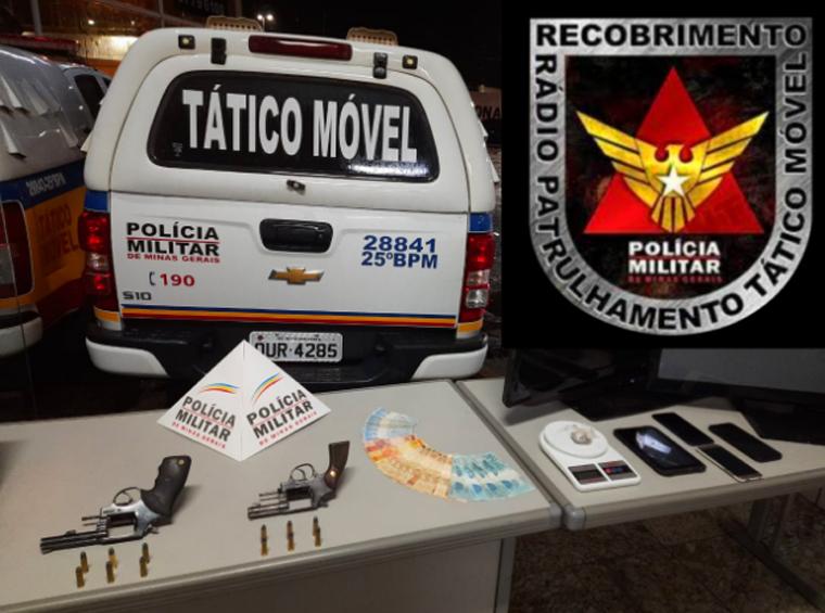 Polícia Militar prende em Caetanópolis suspeito de roubo em Curvelo