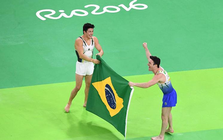 RIO 2016: Brasil conquistas mais duas medalhas com a ginástica masculina