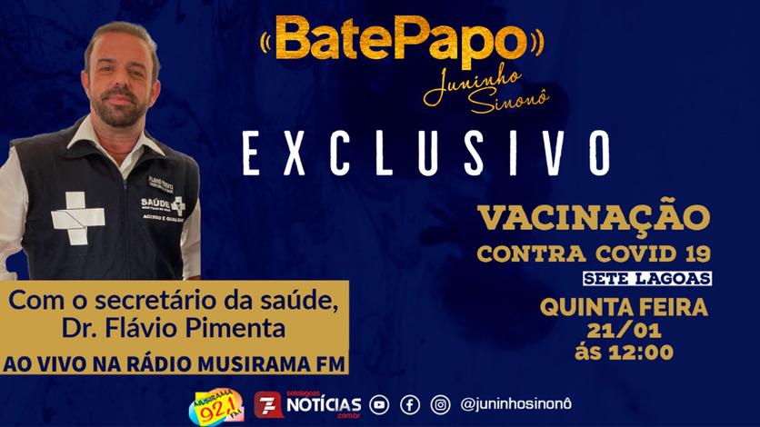 Bate Papo: Dr. Flávio Pimenta