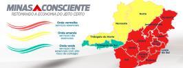 Minas Consciente: microrregião de Sete Lagoas regride para onda vermelha