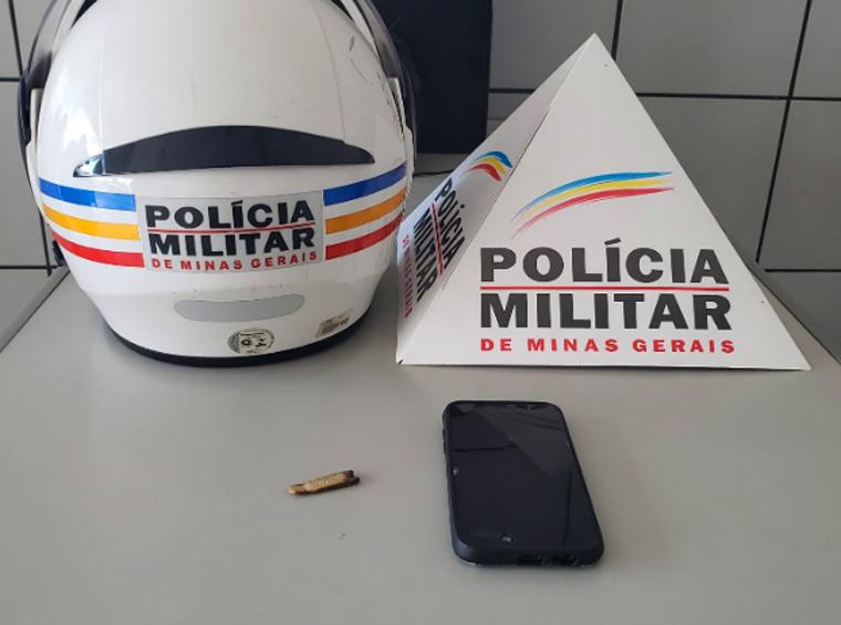 Polícia Militar apreende menor com celular roubado e droga no Centro de Sete Lagoas