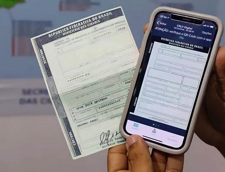 Detran-MG começa a cobrar o porte do documento de veículos do ano-base 2020