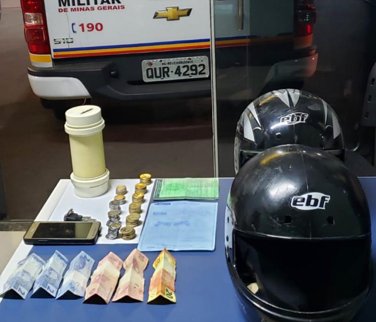 PM prende autor de roubo em salão de beleza no bairro Nova Cidade em Sete Lagoas