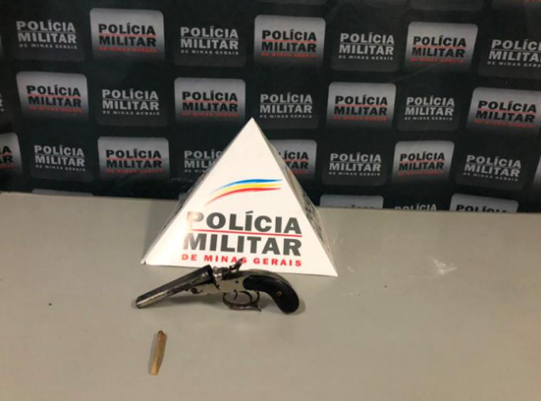 Homem é preso por posse ilegal de arma de fogo no bairro São Francisco em Sete Lagoas