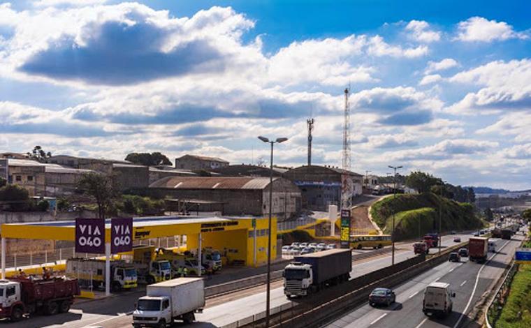 BR-040 será interditada para obras durante o final de semana próximo ao Ceasa, em Contagem