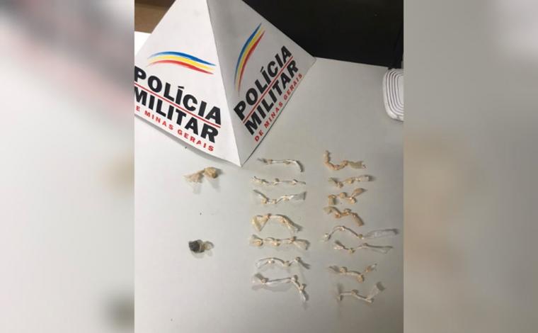 Homem é preso por tráfico de drogas em Caetanópolis