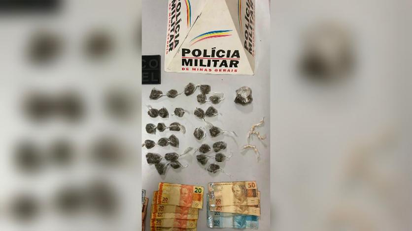 Menor é apreendido por tráfico de drogas em Matozinhos