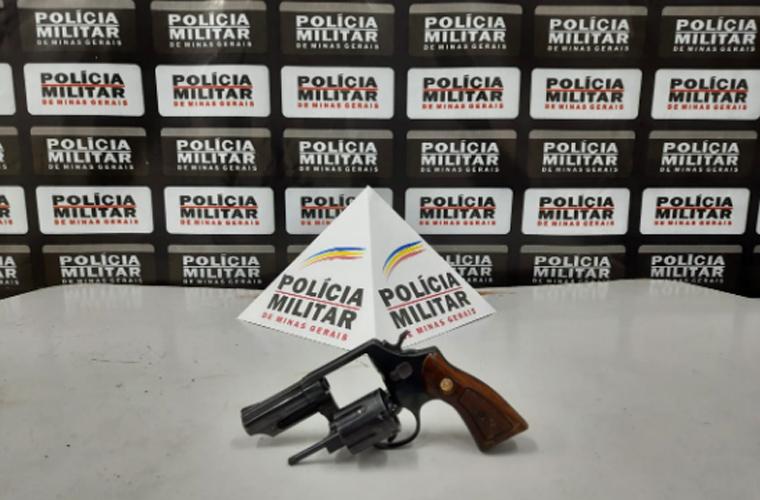 Mais uma arma de fogo é apreendida pela Polícia Militar no bairro Vista dos Lagos